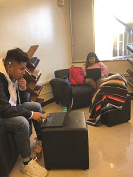 COURTESY GERVAIS HIGH SCHOOL - Gervais High School students work on Chromebooks that have been made available to the school through a grant.