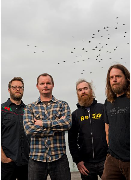 COURTESY PHOTO - Portland band Red Fang puts on shows Dec. 28-29 at Wonder Ballroom.