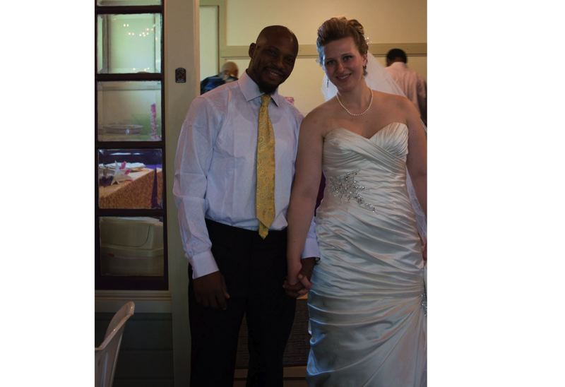 SUBMITTED PHOTO - Rachel Kendall, winner of a the national Working Parent Scholarship, is pictured above on her wedding day to Phil Kendall in September 2017.