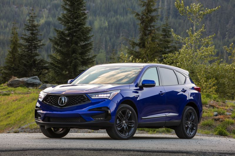 HONDA NORTH AMERICA - The 2019 Acura RDX has been completely redesigned and restyled, with more aggreesive exterior lines, especially the A-Spec version.