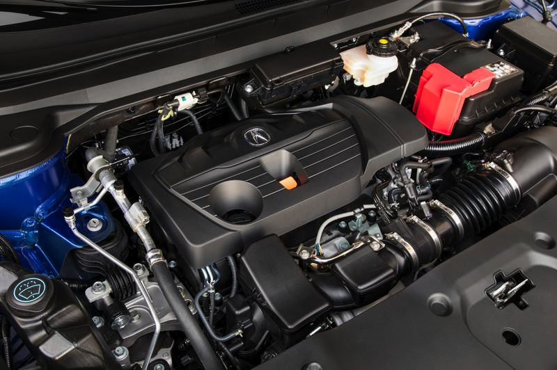 HONDA NORTH AMERICA - The turbocharged 2.0-liter inline four cylinder engine in the 2019 Acura RDX produces an impressive 272 horsepower and 280 foot-pounds of torque.