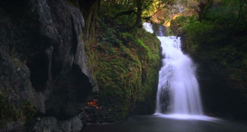 COURTESY OREGON PARKS AND RECREATION DEPARTMENT - Bridal Veil Falls is shown here.