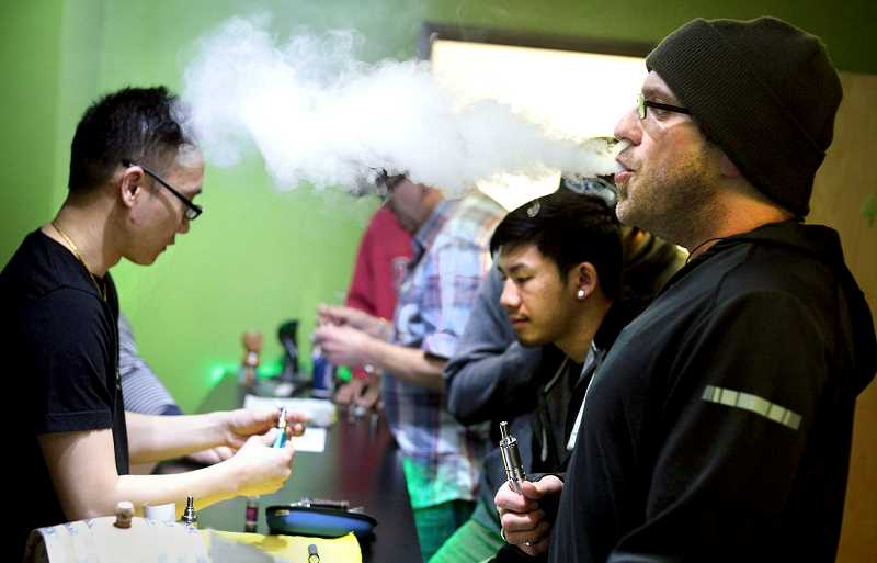 PMG FILE PHOTO - In mid-December, the Newberg School District sent out a letter to Newberg High parents and community members about the use and effects of inhalants such as e-cigarettes and vaporizers.
