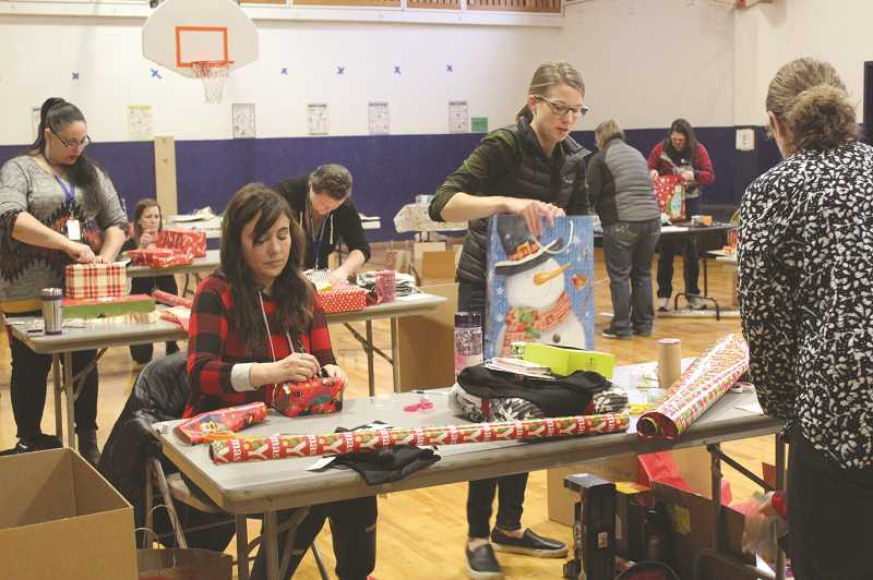 KRISTEN WOHLERS - Ninety-One School takes care of their own during the Christmas season.