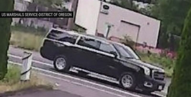 US MARSHALS PHOTO VIA KOIN 6 NEWS - This SUV is believed to have helpd Abdulrahman Noorah escape Oregon and flee to Saudi Arabia in 2017.