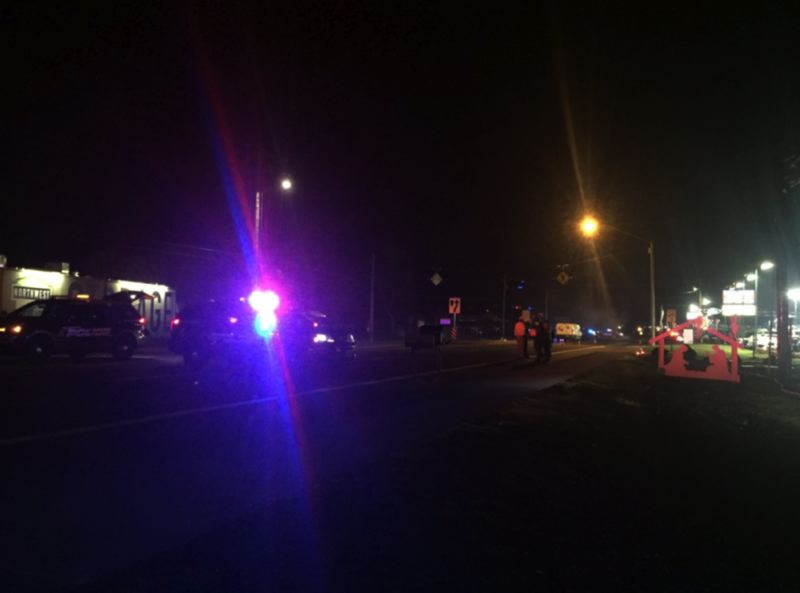 (Image is Clickable Link) KOIN 6 NEWS PHOTO: JENNIFER DOWLING - A 22-year-old pedestrian was killed in Hillsboro, police say.