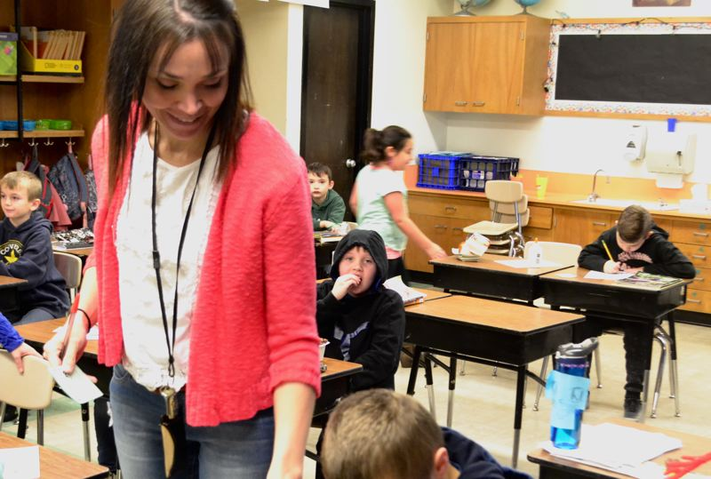 POST PHOTO: BRITTANY ALLEN - Amy Owens has taught in the Oregon Trail School District for 12 years.