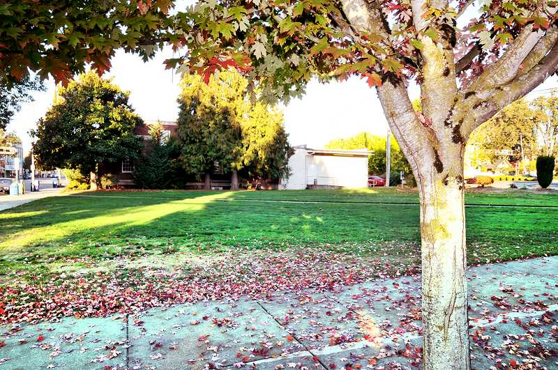 GRAPHIC FILE PHOTO - The city of Newberg is seeking new interested developers for the vacant Butler Property across the street from city hall, as the last group of developers negotiating to develop the lot dropped out.