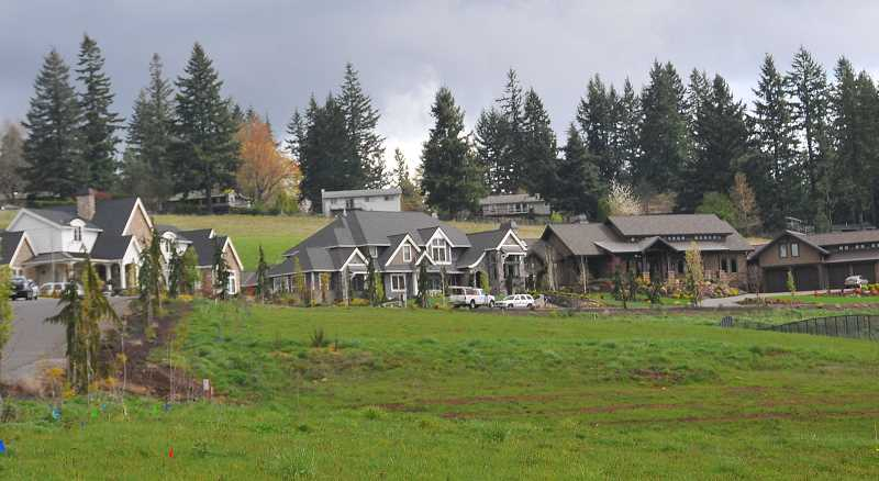 FILE PHOTO - West Linn, Lake Oswego and Tualatin worked throughout the year on a three-party agreement laying out a process for future development in the rural Stafford area. By year's end, Tualatin was the lone holdout in signing the IGA.