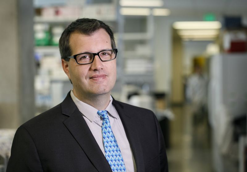 FILE PHOTO - Dr Paul Spellman of OHSU's Knight Cancer Institute says the new building is 97 percent perfect and staff interactions are way up.