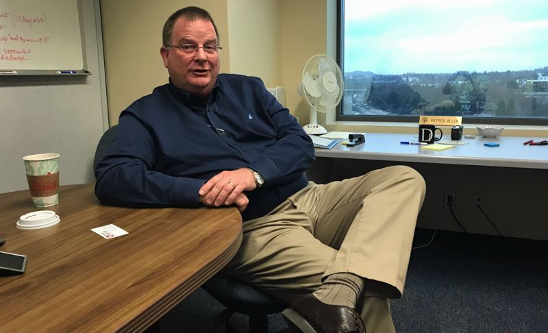 TIMES PHOTO: DANA HAYNES - Patrick Allen, director of the Oregon Health Authority, is looking toward a hectic legislative session beginning in just a few weeks.