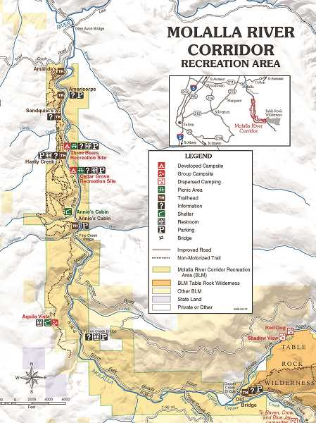 Pictured is the Molalla River Corridor Recreation Area, which will be impacted by the Oregon Wildlands Act, if passed.