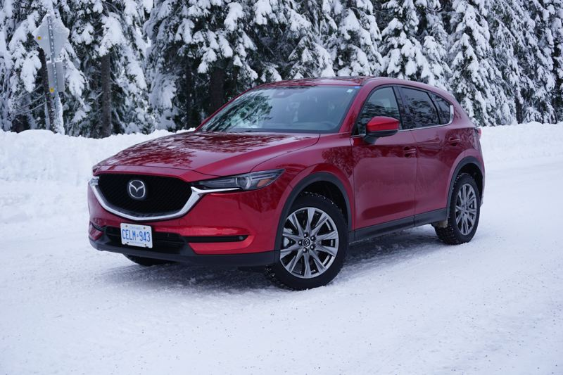 PORTLAND TRIBUNE: JEFF ZURSCHMEIDE - The 2019 Mazda CX-5 is ready to tackle anything the Pacific Northwest throws at it, and now features a more powerful turbocharge engine.