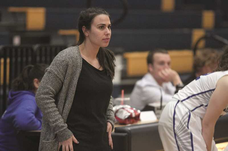PHIL HAWKINS - Woodburn girls basketball head coach Taylor Belmont is excited to see the amount of buy-in from the players who are eager to take the steps necessary to lift the program up over the coming seasons.
