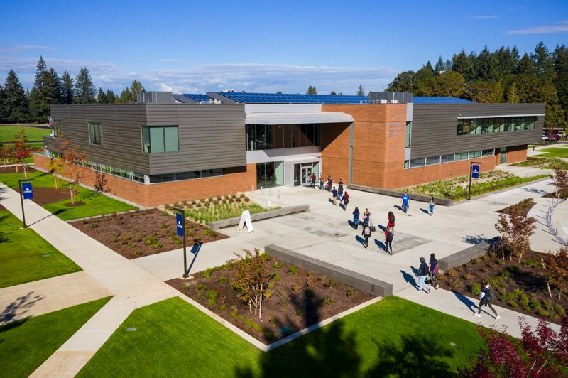 COURTESY: CLACKAMAS COMMUNITY COLLEGE - The new Industrial Technology Center where some Clackamas Community College students will benefit from a $100,000 grant from the band Metallica's foundation.