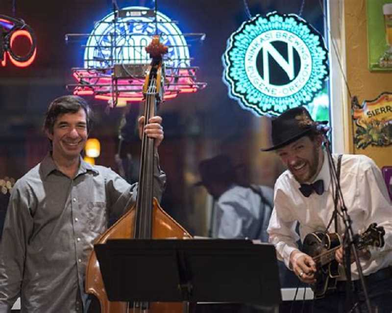 The Big North Duo will be at the Lake Oswego Public Library on Jan. 8 at 7 p.m. for a free concert.