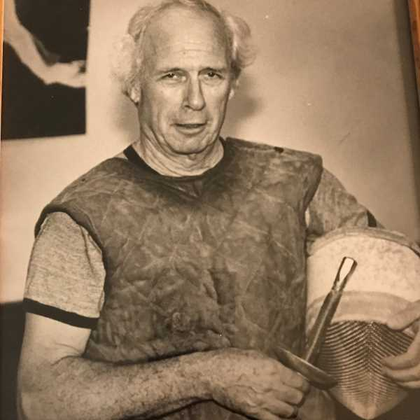 SUBMITTED PHOTO: DELMAR CALVERT - The fencing 'Maestro,' Delmar Calvert served as a fencing coach for several national teams, including the U.S. Olympic squad, as well as at the Unversity of California, Santa Cruz.