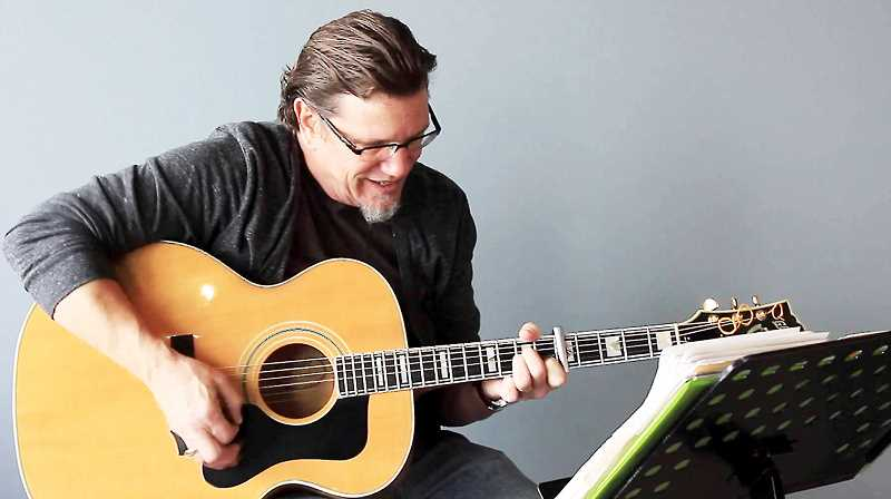 SUBMITTED PHOTO - Guitarist/singer/songwriter Tim Ueker will perform Friday at Coffee Cottage in Newberg.