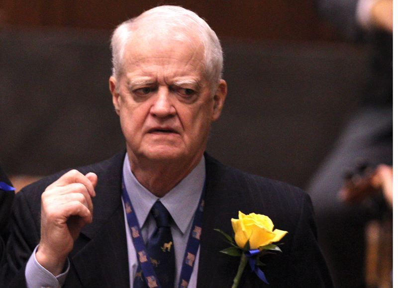 PAMPLIN MEDIA GROUP FILE PHOTO - The BOLI report faulted legislative leaders, like Senate President Peter Courtney, for failing to take action sooner on sexual harassment issues in the Capitol.