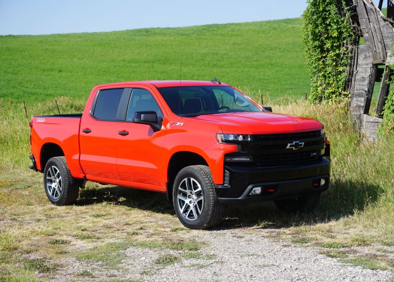 PORTLAND TRIBUNE: JEFF ZURSCHMEIDE - The 2019 Chevy Silverado is bigger and better in every way, with multiple engine and four-wheel-drive system choices.