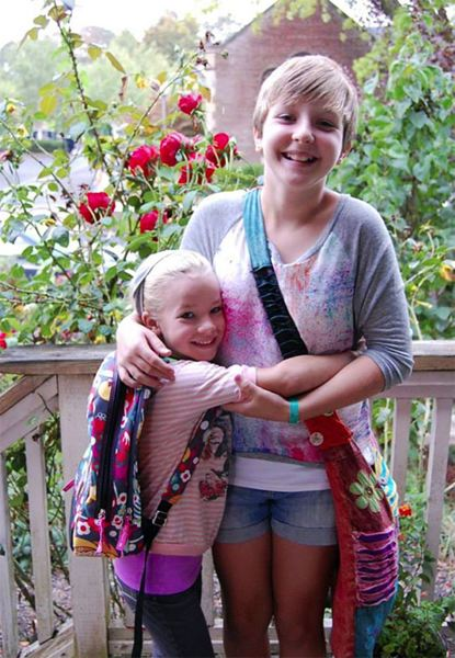COURTESY PHOTO - Abigail Robinson, 11, and her sister Anna Dieter-Eckerdt, 6, both died as a result of injuries suffered while playing in a pile of leaves outside their home in Forest Grove.