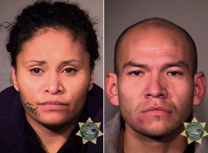MCSO PHOTOS - FROM LEFT: Wendy Ngirarois and Cody Charboneau