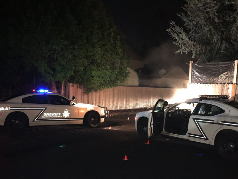 POLICE PHOTO - Clackamas County Sheriff's deputies responded to an exchange of gunfire that left a man dead in Oak Grove on Jan. 5.
