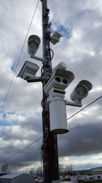 COURTESY PBOT - One of the automated citation-issuing Speed Safety Cameras installed on dangerous streets in recent years.