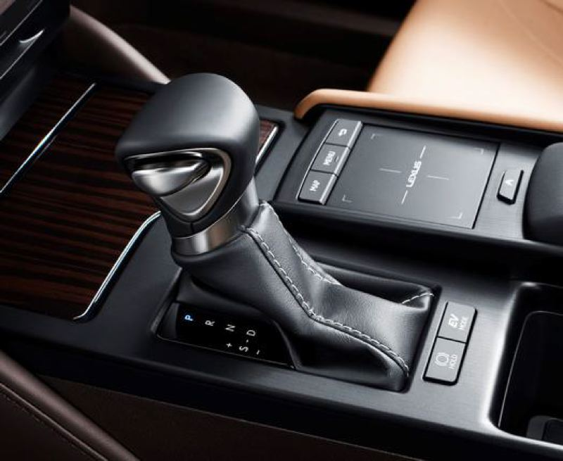 TOYOTA MOTOR SALES - The infotainment system in the 2019 Lexus ES 350 is operated by an easy-to-use touch pad.
