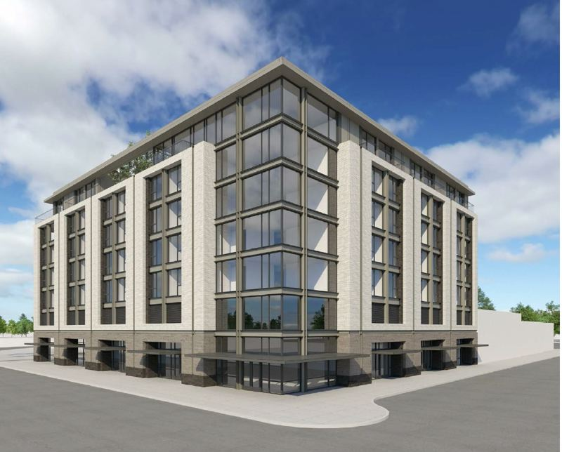 COURTESY: STURGEON DEVELOPMENT PARTNERS - An Opportunity Fund created by Sturgeon Development Partners focuses on two projects: a mixed-use tower in Portland and a new hotel, above, to replace a run-down parking structure in Salem