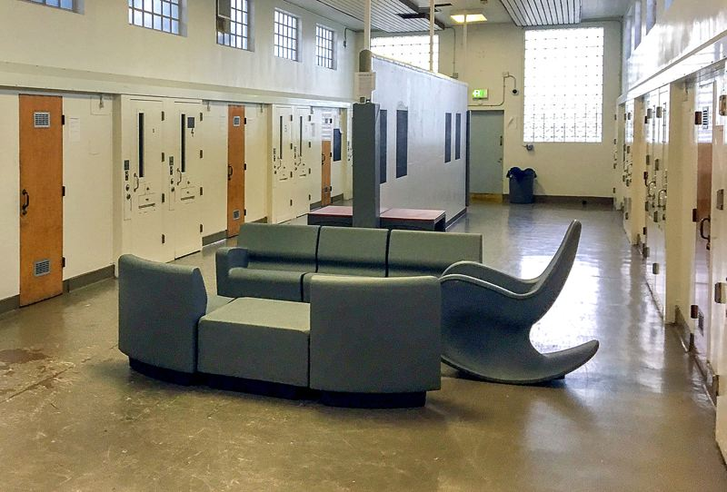 COURTESY PHOTO: OREGON YOUTH AUTHORITY - The MacLaren Youth Correctional Facility Isolation Unit.