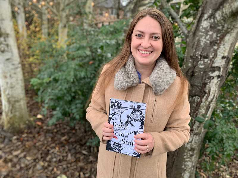 STAFF PHOTO: JANAE EASLON - Washington County resident A. Penn self-published her own book in 2017 and has done readings around the Portland metro area ever since.