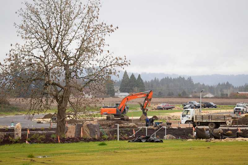 STAFF PHOTO: JAIME VALDEZ - When finished, South Hillsboro will be home to as many as 20,000 people. The neighborhood will take 20 years to reach full buildout, and will include parks, shopping centers and new schools.