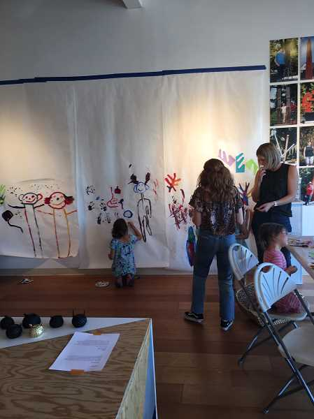 SUBMITTED PHOTO  - The Arts Council of Lake Oswego will again host Family Art Making events scheduled on the fourth Thursday of each month through May. The events are free, but donations to cover material costs are appreciated.