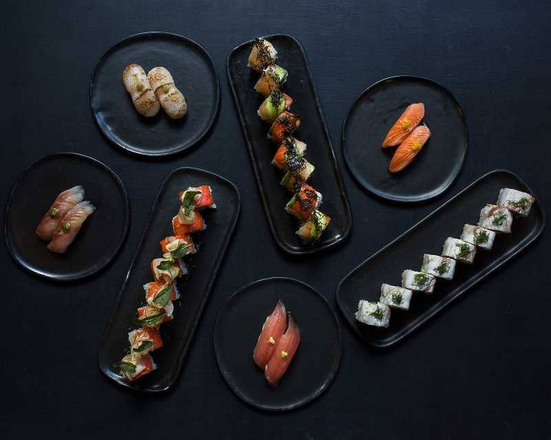 PHOTO COURTESY OF SUSTAINABLE RESTAURANT GROUP) - Bamboo Sushi's menu will be similar to the offerings in its other Portland-area restaurants. Look for signature sushi rolls, traditional nigiri and Japanese-inspired shared plates, as well as a few new additions for Lake Oswego diners.
