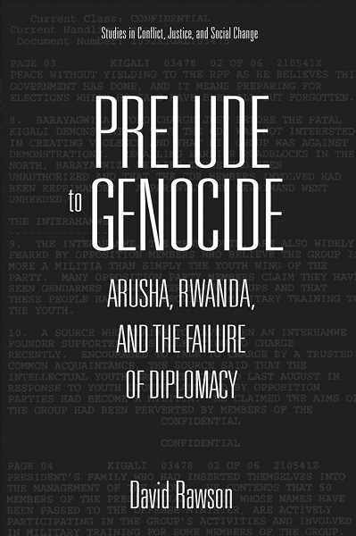 PHOTO COURTESY OF GFU - David Rawson, a visiting scholar at George Fox University, recently released 'Prelude to Genocide,' an account drawn from classified documents and his personal experiences in Rwanda.