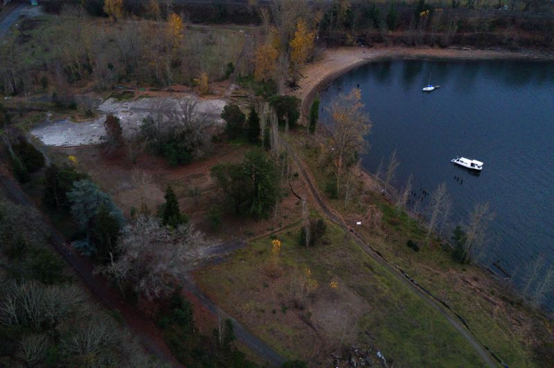 PHOTO CREDIT: PHOTO COURTESY OF METRO - Metro learned that Willamette Cove was contaminated after acquiring the site with money from a voter-approved greenspaces bond. Now the agency is working with the Port of Portland and others to get the Superfund site cleaned up.