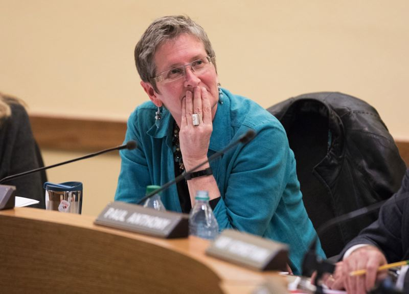 PAMPLIN MEDIA GROUP FILE PHOTO - PPS Chair Rita Moore said the state audit did not fairly present the district's financial and classroom challenges.
