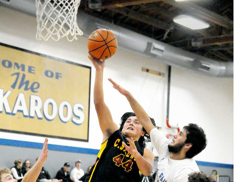 GARY ALLEN - C.S. Lewis forward Micah Grobey scored 29 points, 18 in the second half, versus St. Paul Tuesday evening.