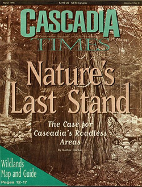 COURTESY: CASCADIA TIMES  - A past issue of the print edition of the Portland-based environmental magazine.