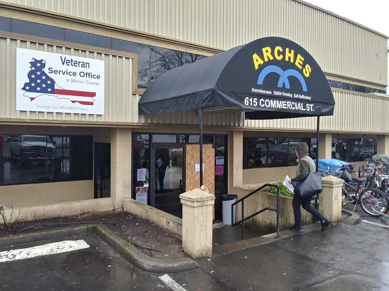 JUSTIN MUCH - Marion County Veterans Service Office is housed in the busy ARCHES building, a place where the countys homeless or at-risk of becoming homeless population seeks resources.