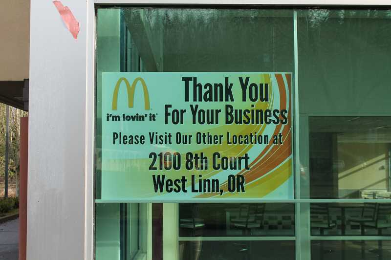 TIDINGS PHOTO: HOLLY BARTHOLOMEW - The community was shocked when the McDonald's on Highway 43 closed in December, but the good news was that the employees were all relocated to other McDonald's restaurants.
