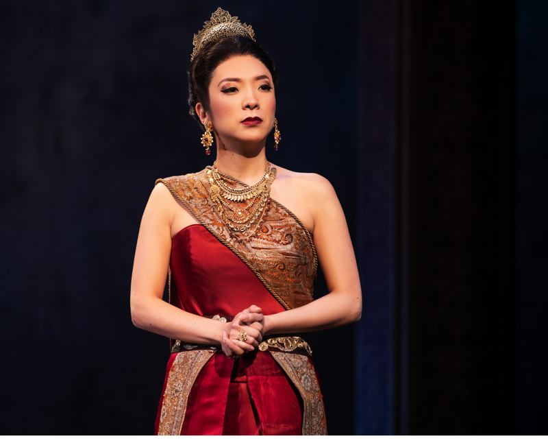 COURTESY: MATTHEW MURPHY - DeAnna Choi says that playing Lady Thiang in 'The King and I' has been challenging and rewarding.