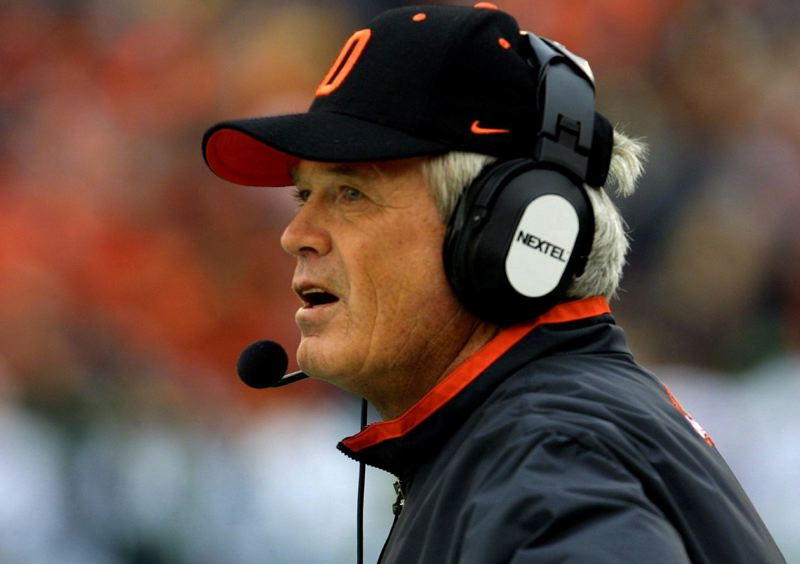 TRIBUNE FILE PHOTO: JIM CLARK - Dennis Erickson, former head coach at Oregon State and elsewhere, has a big year ahead, at age 71.