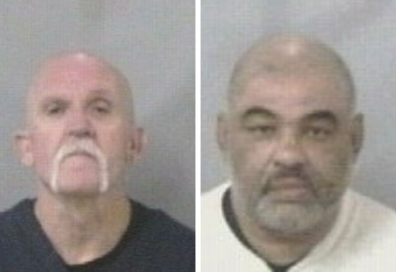 CORRECTIONS PHOTOS - FROM LEFT: Lincoln Baker and William Heyser