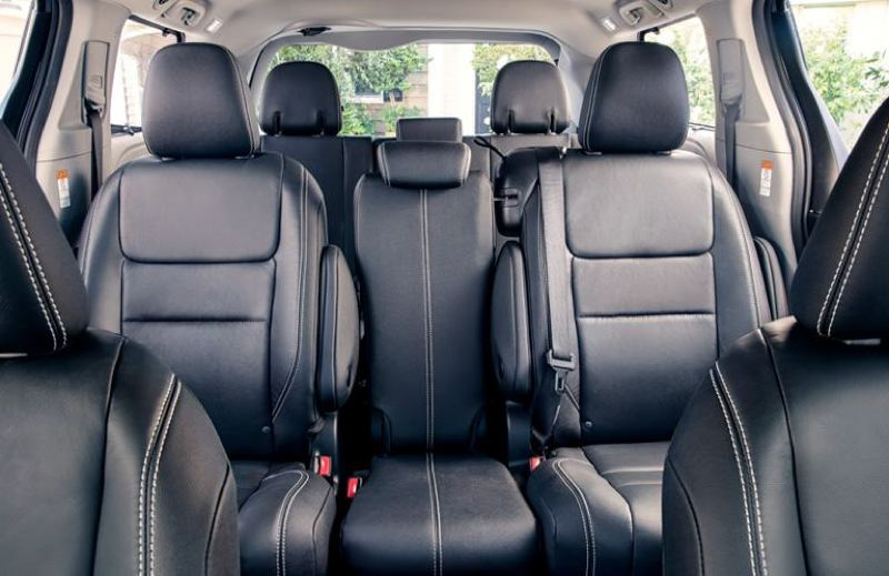 CONTRIBUTED - The second row of seats in the 2019 Toyota Sienna slide forward for easy acces to the third row, and can be removed for maximum cargo space.