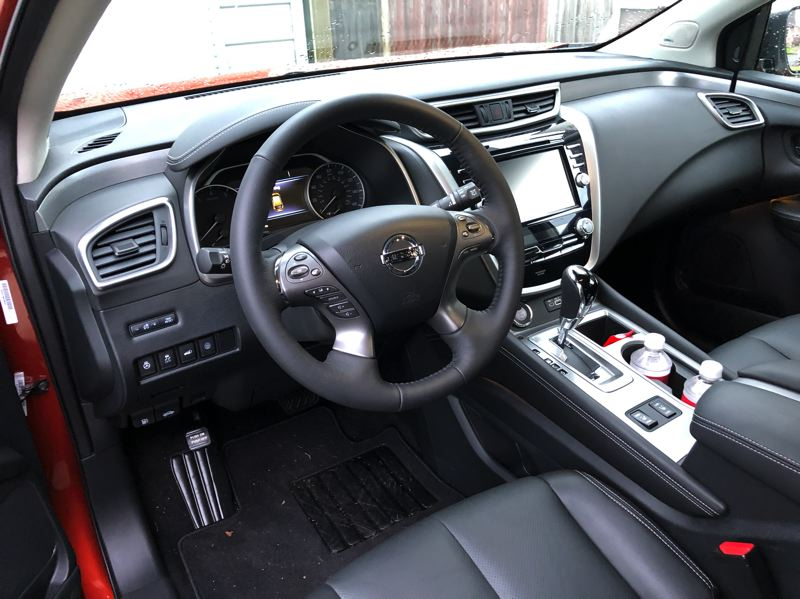 PORTLAND TRIBUNE: JEFF ZURSCHMEIDE - Although the 2019 Nissan Murano is an affordable crossover, it can be as well equipped as just about any luxury SUV.