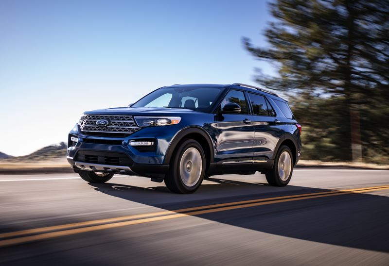 COURTESY FORD - The completely revised 2020 Ford Explorer Limited.