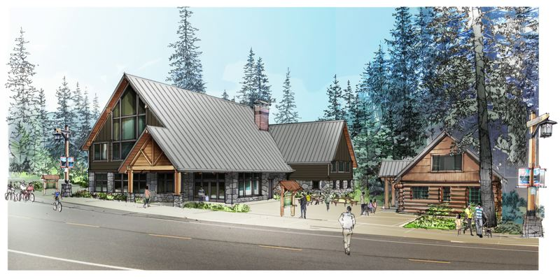 COURTESY: NIR PEARLSON ARCHITECT INC. - In addition to adding a 200-person capacity event hall to the existing museum, the three-phase expansion will include placing an example of a Steiner Cabin next to the museum.