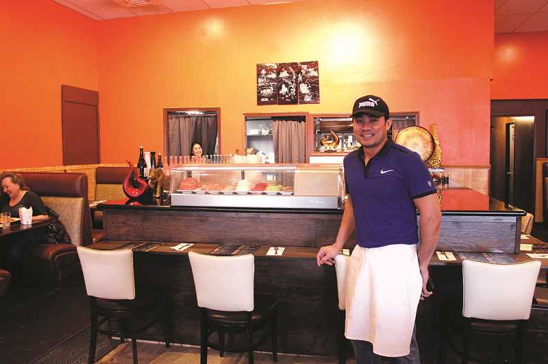 KRISTEN WOHLERS - Montree Navan has renovated and reopened the old Lui's Palace restaurant under a new name, Thai Yo Sushi, and with a new menu.